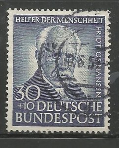 GERMANY  B337  USED,  SURTAX FOR WELFARE ORGANIZATIONS