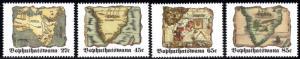 Bophuthatswana - 1992 Old Maps Set MNH** SG 268-271