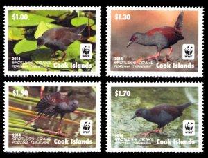 Cook Islands 2014 Scott #1520-1523 Mint Never Hinged