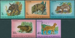 Trinidad and Tobago 1971 SG392-396 Wildlife set MNH