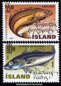 Iceland Scott 928-929 Mint never hinged.