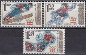 Czechoslovakia #2054-6  MNH  (SU8186)