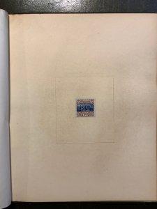 1869 Series, Large Die Proofs, Complete Roosevelt Presentation Book, Rare $8,050