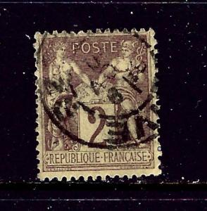 France 88 Used 1877 issue