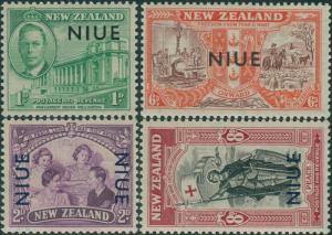Niue 1946 SG98-101 Peace set MNH