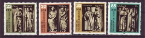 J24506 JLstamps 1983 germany DDR set mnh #2355-8 statues