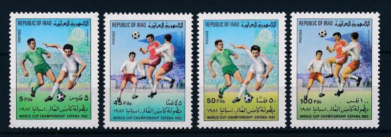 [59422] Iraq Irak 1982 World Cup Soccer Football Spain MNH