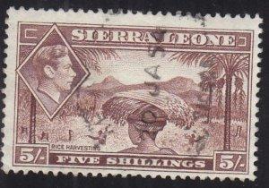 Sierra Leona: Sc #183, Used (34790)