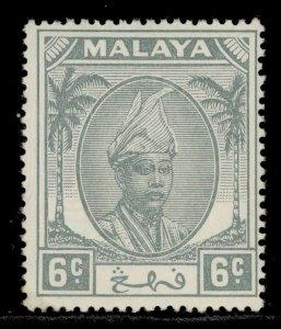 MALAYSIA - Pahang GVI SG58, 6c grey, LH MINT.
