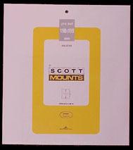 Scott Mounts Black,190/199  (pkg 4) 01000B