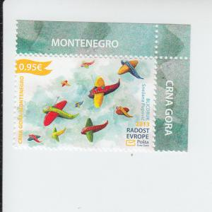 2013 Montenegro Joy of Europe (Scott 350) MNH