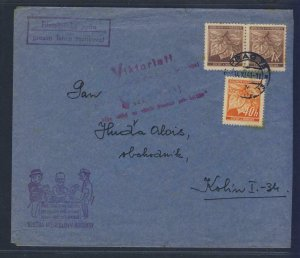 67967- CZECHOSLOVAKIA 1941 - CIRCULATED COVER
