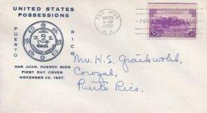 801 3c PUERTO RICO - 1st Parkhurst Canning Co.
