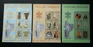 Vatican The Papacy And Art USA 1983 Culture Sculpture (miniature sheet 3's) MNH