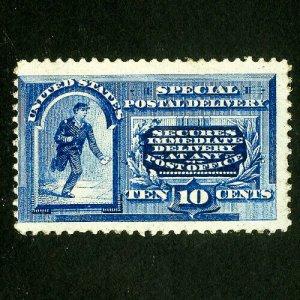US Stamps # E2 3 huge margins fresh OG VLH Scott Value $500.00