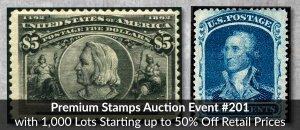 Premium Auction Event #201