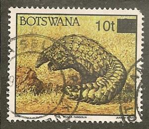Botswana     Scott  594A    Animal, Fauna    Used