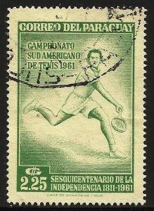 Paraguay 1962 Scott# 633 Used