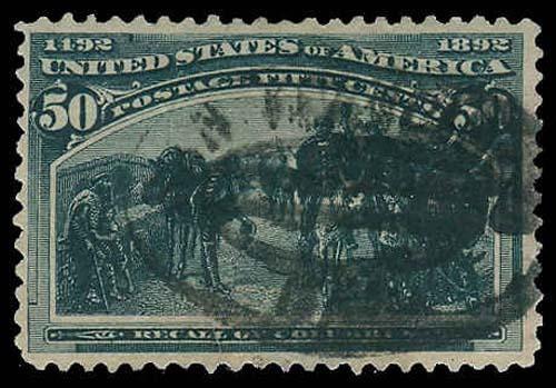 U.S. COLUMBIAN ISSUE 240  Used (ID # 70705)
