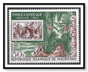 Mauritania #C80 Airmail MNH