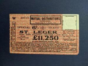 1929 Liechtenstein Lottery Ticket, XF, CV $150