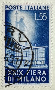 AlexStamps ITALY #573 SUPERB Used