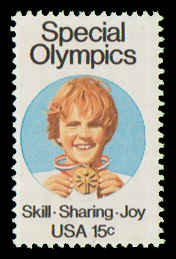 PCBstamps    US #1788 15c Special Olympics, 1979, MNH, (4)