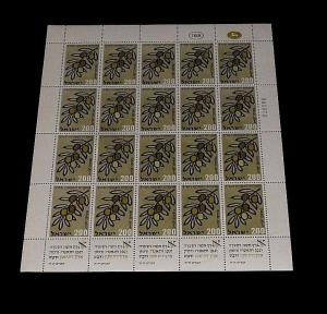 1959, ISRAEL #163, NEW YEAR ISSUE, 2.00, SHEET/ 15 , MNH, NICE! LQQK!