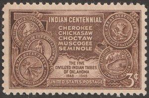 USA stamp, Scott# 972, MNH, Indian Centennial,  #pp-3