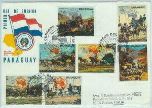 84305 -  PARAGUAY -  POSTAL HISTORY - FDC COVER 1984 - UPU Postage AUSIPEX 84