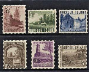 STAMP STATION PERTH Norfolk Island #13-18 Norfolk Scenes MNH- CV$55.00