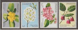 Mauritius Scott #436-439 Stamps - Mint NH Set