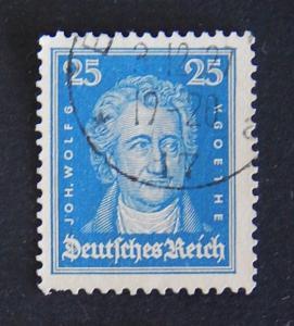 Germany, 1926, Famous Germans, MC #393, (8-(4G-2IR))