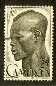 FRENCH CAMEROUN 321 MH SCV $3.25 BIN $1.40 PERSON
