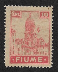 FIUME SC# 30a  FVF/MNG