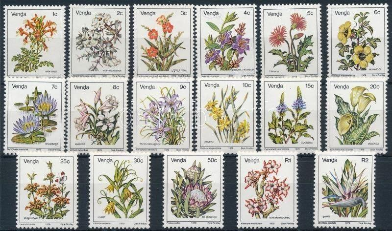 South Africa-Venda stamp Definitive, Flowers set MNH 1979 Mi 1-17 A WS233798