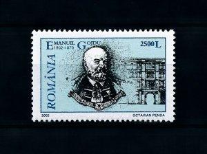 [100961] Romania 2002 Emanuil Gojou lawyer  MNH