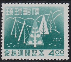 Ryukyu Islands 35 MNH (1956)