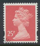 Great Britain SG Y1689 Sc# MH213    Used with first day cancel - Machin 25p