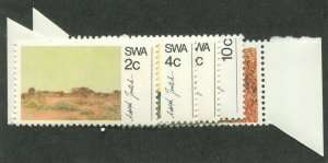 SOUTH WEST AFRICA #338-342 MINT SET