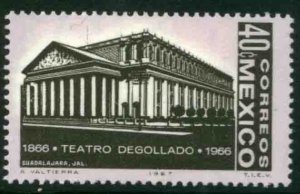 MEXICO 979, Centenary of Degollado Theater in Guadalajara MINT, NH. VF.