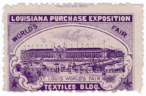 (I.B) US Cinderella : Louisiana Purchase Exposition (Textiles)