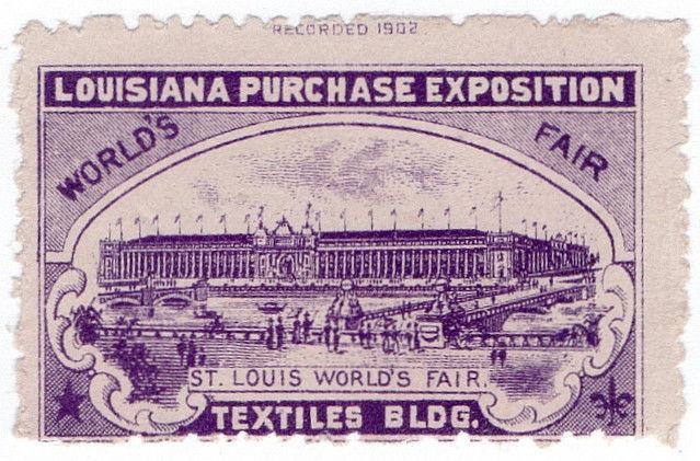 (I.B) US Cinderella : Louisiana Purchase Exposition (Textiles)