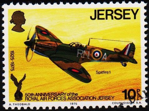 Jersey. 1975 10p S.G.135 Fine Used