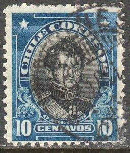 Chile 116, 10c O Higgins. Used.F. (557)