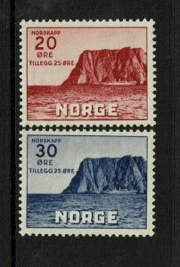 Norway SC# B9 and B10, Mint Hinged, Hinge Remnant - S9406