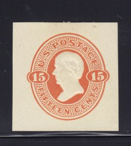 U96 VF-XF mint cut square nice color scv $ 85  ! see pic !