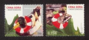 Montenegro Sc# 311-2 MNH Nature Protection 2012