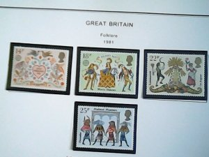 1981  Great Britain  MNH  full page auction