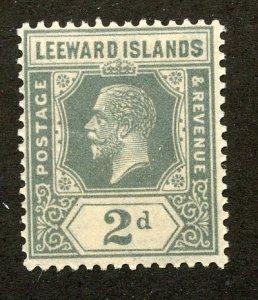 Leeward Islands, Scott #68, Mint, Never Hinged